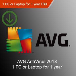 AVG AntiVirus 2018 ESD Official Code