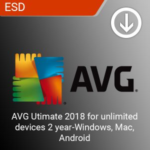 AVG Utimate 2018 for unlimited Payless PC