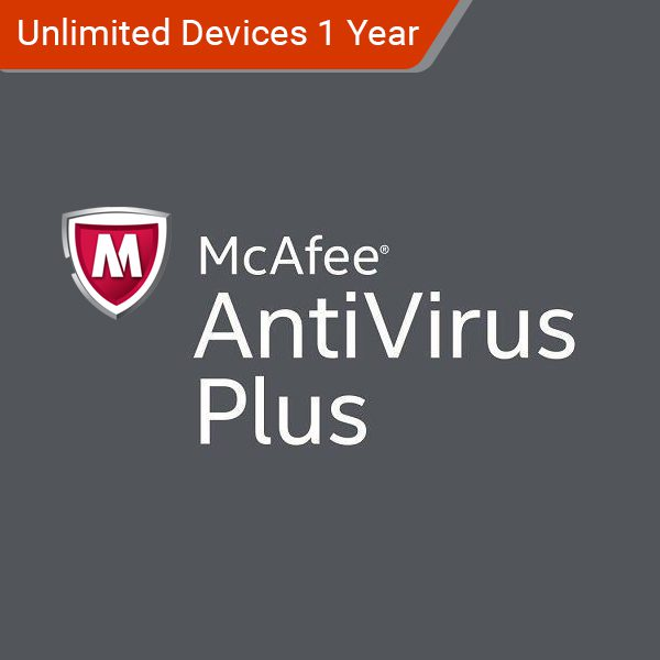 Mcafee Antivirus Plus 2018 Unlimited Users 1 Year Payless Pc