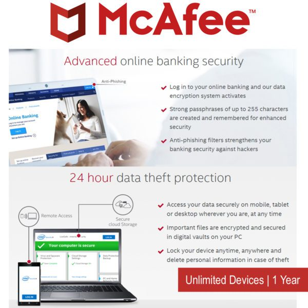 McAfee Internet Security Payless PC