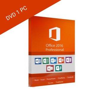 Microsoft Office PRO 2016 for 1PC Box Payless PC