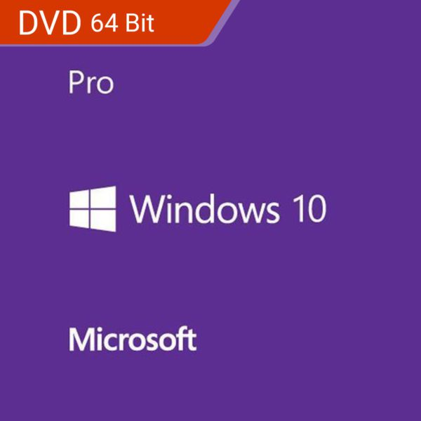 Microsoft Windows 10 Professional DVD 64 Bit OEM Payless PC